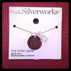 Belk Silverworks Birthstone Necklace